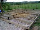 Log Cabin Details Raised Timber Base Kit For Log Cabin