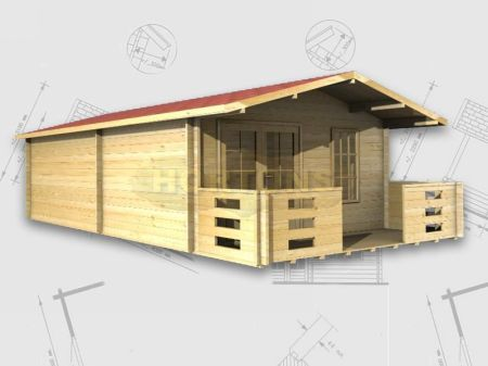 Log cabins maldon 8x4 log cabin for 8x4 bathroom designs