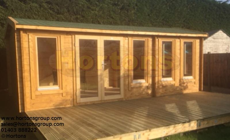 Log Cabin Details York Twinskin 45 45mm 7 5 X