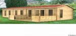 Log cabins peterborough log cabin for Garden room 5x3