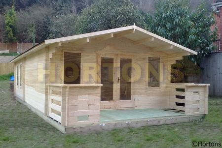 Log cabins newbury 6x9m log cabin for Carport 6x9m