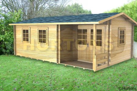 Log Cabin Details Colchester Twinskin 28 28mm Walls With