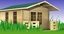 Log Cabins Now Available